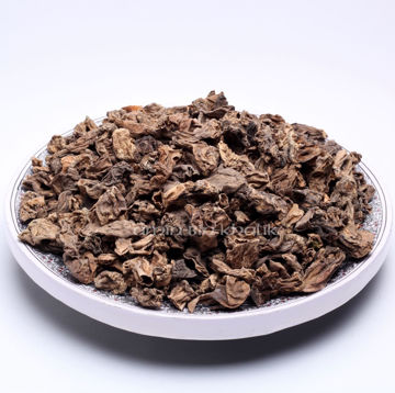 Picture of Dried Morel tails (i.e. the part cut away from the cap)